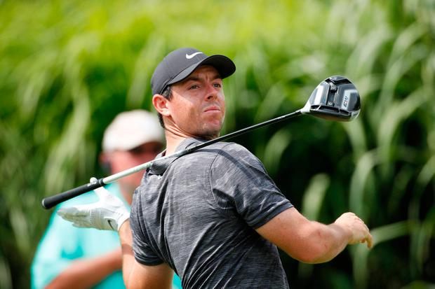 McIlroy had a disappointing final round at the WGC-Bridgestone Invitational