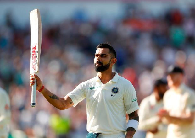 Brilliant Kohli takes his chances to lift up India