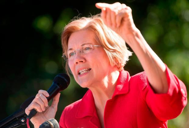 Elizabeth Warren. Photo: AFP/Getty Images