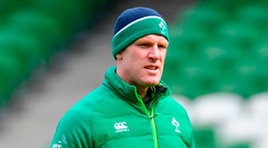 Taking the job with Stade is another step on the coaching ladder for O'Connell. Photo by Ramsey Cardy/Sportsfile