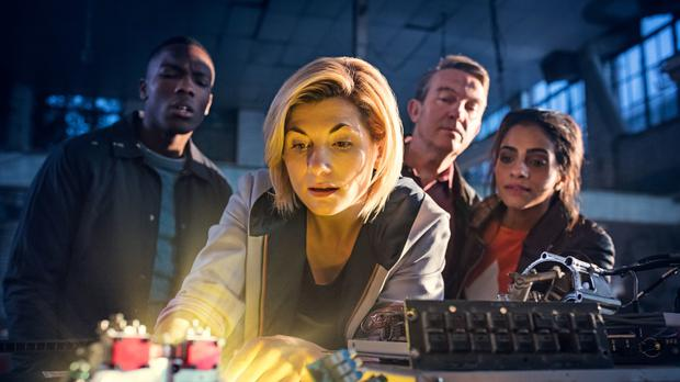 Jodie Whittaker as Doctor Who (Sophie Mutevelian/BBC)