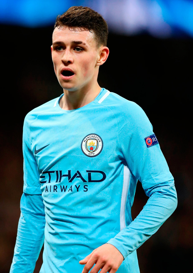 Phil Foden of Manchester City. Photo: Getty Images