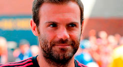 Manchester United's Juan Mata. Photo: Getty Images