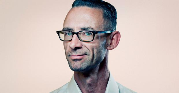 Stranger than fiction: Chuck Palahniuk's life has had several twists and turns