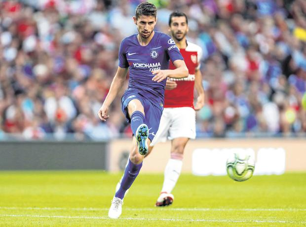 Maurizio Sarri expecting good news Courtois and Hazard