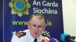 BLUE LINE TOO THIN: Chief Superintendent Christy Mangan warned that gardai couldn't man all the 291 border crossings. Picture: Colin O'Riordan
