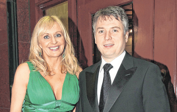 APPEAL: Steve Carson and wife Miriam O'Callaghan