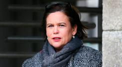 'No, I am not going to make a meal out of Mary Lou McDonald's woes. I am not the kind of pious columnist who arrives late on the battlefield to bayonet the wounded.' Photo: Frank McGrath