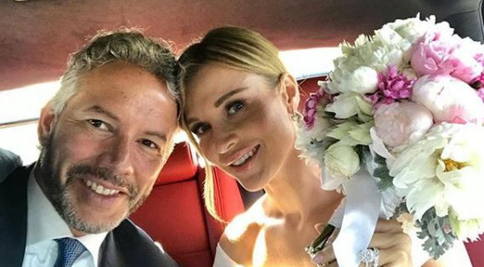 Douglas Nunes pictured with new wife Joanna Krupa. PIC: Douglas Nunes/Instagram