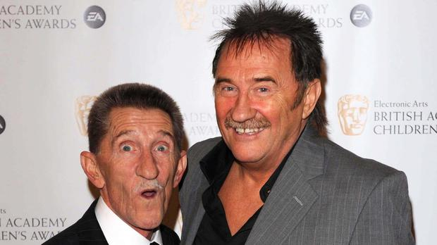 Paul Chuckle has led tributes to his brother Barry, left, who has died (Ian West/PA)