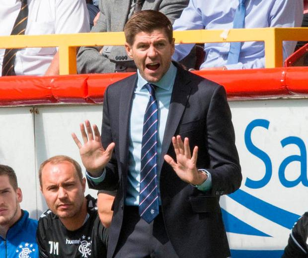 Rangers manager Steven Gerrard. Photo: Jeff Holmes/PA Wire