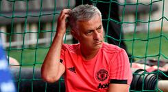Manchester United manager Jose Mourinho. Photo: Andreas Gebert/Reuters