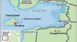A boy who was killed in a road crash on Clare Island off the coast of Co Mayo in the early hours of yesterday was just 13 years old