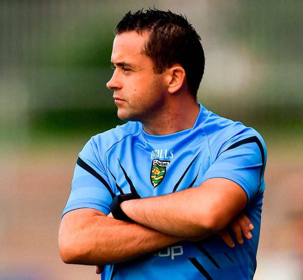 Donegal manager Maxi Curran. Photo: Oliver McVeigh/Sportsfile