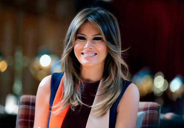 Melania Trump (AP Photo/Luca Bruno, Pool)
