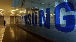 'In tech news Samsung will unveil its next Galaxy Note smartphone on Thursday.' Photographer: SeongJoon Cho/Bloomberg