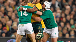 Henry Speight in action against Ireland