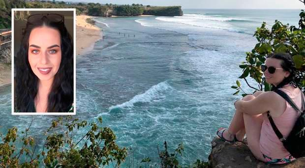 Rebecca McConnell (26) was holidaying in Bali at the time of the earthquakes