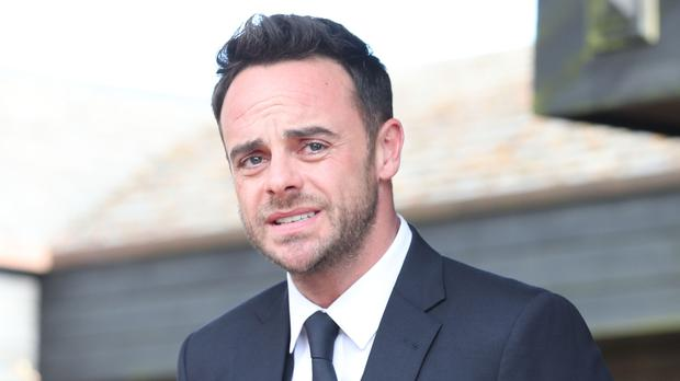 Ant McPartlin returned to Twitter to send a special message (Steve Parsons/PA)