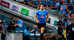 Bernard Brogan of Dublin comes on as a substitute in the second half during the GAA Football All-Ireland Senior Championship Quarter-Final Group 2 Phase 3 match between Dublin and Roscommon at Croke Park in Dublin.
