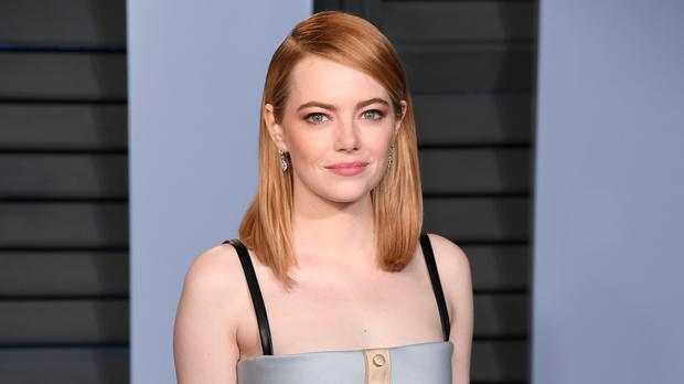 The 10-episode series stars Emma Stone and Jonah Hill (PA)