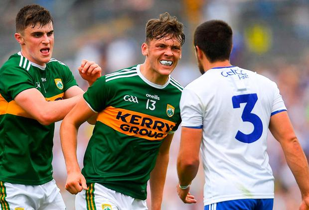 Kerry's David Clifford (centre). Photo: Ramsey Cardy/Sportsfile
