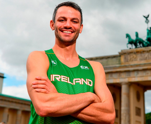 Thomas Barr at the European Championships. Photo: Sam Barnes/Sportsfile