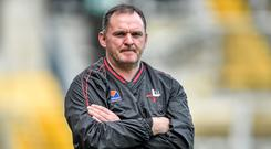 Roscommon look set to put Aidan O'Rourke's name forward for ratification tonight to replace Kevin McStay as their manager. Photo: Brendan Moran/SPORTSFILE