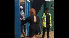 The portaloo to another dimension. PIC: Persandwichman/Twitter