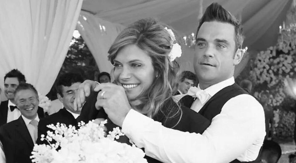 Robbie and Ayda Williams celebrate wedding anniversary with sweet messages | Photo via Instagram
