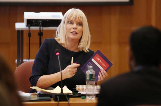Junior Minister Mary Mitchell O'Connor launched the research on sexual consent. Photo: RollingNews.ie