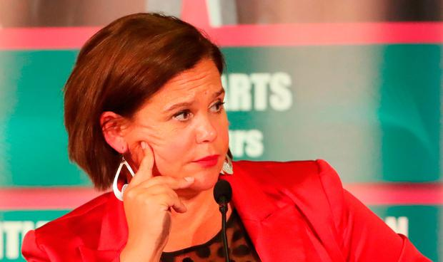Sinn Féin Leader Mary Lou McDonald. Photo: Niall Carson/PA Wire