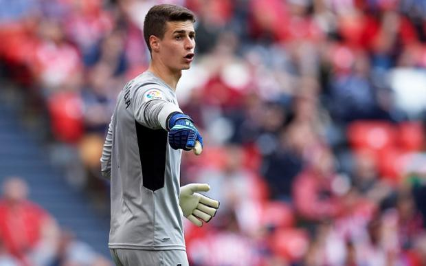 Chelsea have agreed to pay a world record £71 million fee for Athletic Bilbao's goalkeeper Kepa Arrizabalaga CREDIT: JUAN MANUEL SERRANO ARCE/GETTY IMAGES