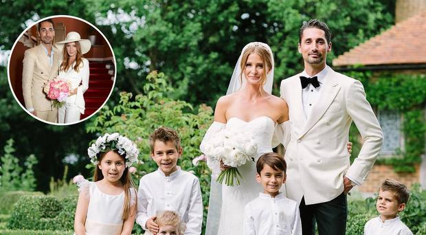 Official Wedding Photos.Newlywed Millie Mackintosh Reveals The Chic Two Piece