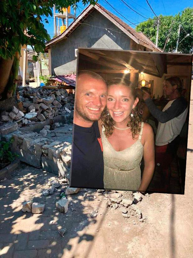 Fiona Smith and her partner Ondrej Gomola have been living on Gili Trawangan for six years