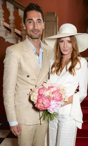 Millie Mackintosh and Hugo Taylor at the Chelsea Old Town Hall in 2018