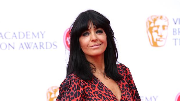 Claudia Winkleman gets to work on first day of new series of Strictly (Isabel Infantes/PA)