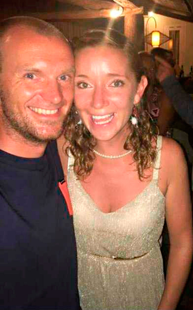 Fiona Smith and Ondrej Gomola have been left 'devastated' by the earthquake, which damaged their home in Indonesia