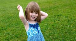 Georgia Anne Callan (4), who died on Saturday, July 28, in a pool accident in Marbella, Spain
