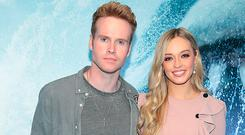 Steve Garrigan and Diana Bunici at the special preview screening of The Meg at Cineworld, Dublin. Picture: Brian McEvoy