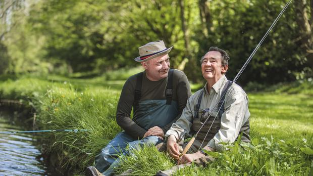 BBC Two has recommissioned Mortimer And Whitehouse: Gone Fishing (Parisa Taghizadeh/PA)