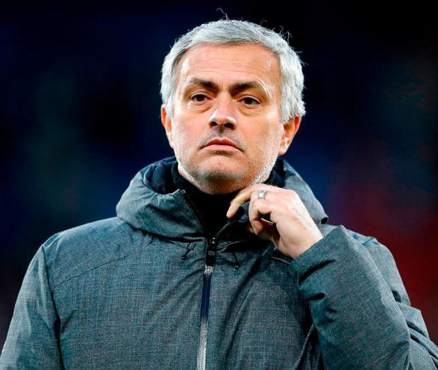 Manchester United manager Jose Mourinho. Photo: Martin Rickett/PA Wire