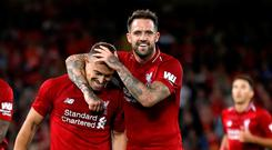 Danny Ings (right) is off to Southampton