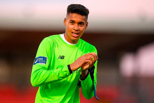 'Premier League champions City are keen to add Bazunu to their set-up having been impressed by his maturity in his first-team outings.' Photo: Eóin Noonan/Sportsfile