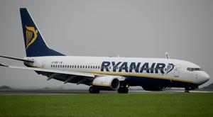 Ryanair flights have been cancelled because of strike by pilots (Peter Byrne/PA)