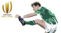 Ronan O'Gara has been inducted into the World Rugby Hall of Fame. Image credit: World Rugby.