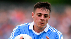Dublin's Brian Howard has grown enormously in his first season as a regular starter. Photo: Ray McManus/Sportsfile