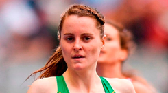 Ireland's Ciara Mageean competes in the Women's 1500m in Berlin. Photo: Sam Barnes/Sportsfile