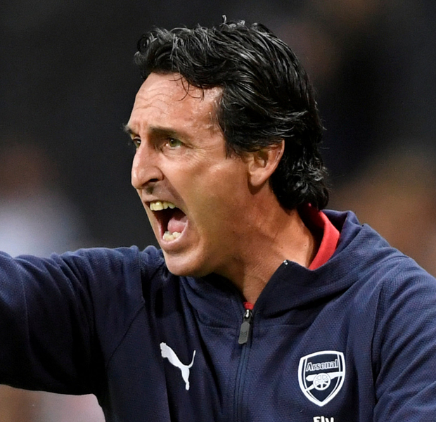 Arsenal manager Unai Emery. Photo: Reuters