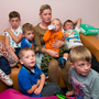 Margaret Cash and her children had to spend Wednesday night in Tallaght Garda Station